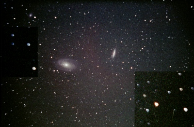 M 82 without coma corrector
