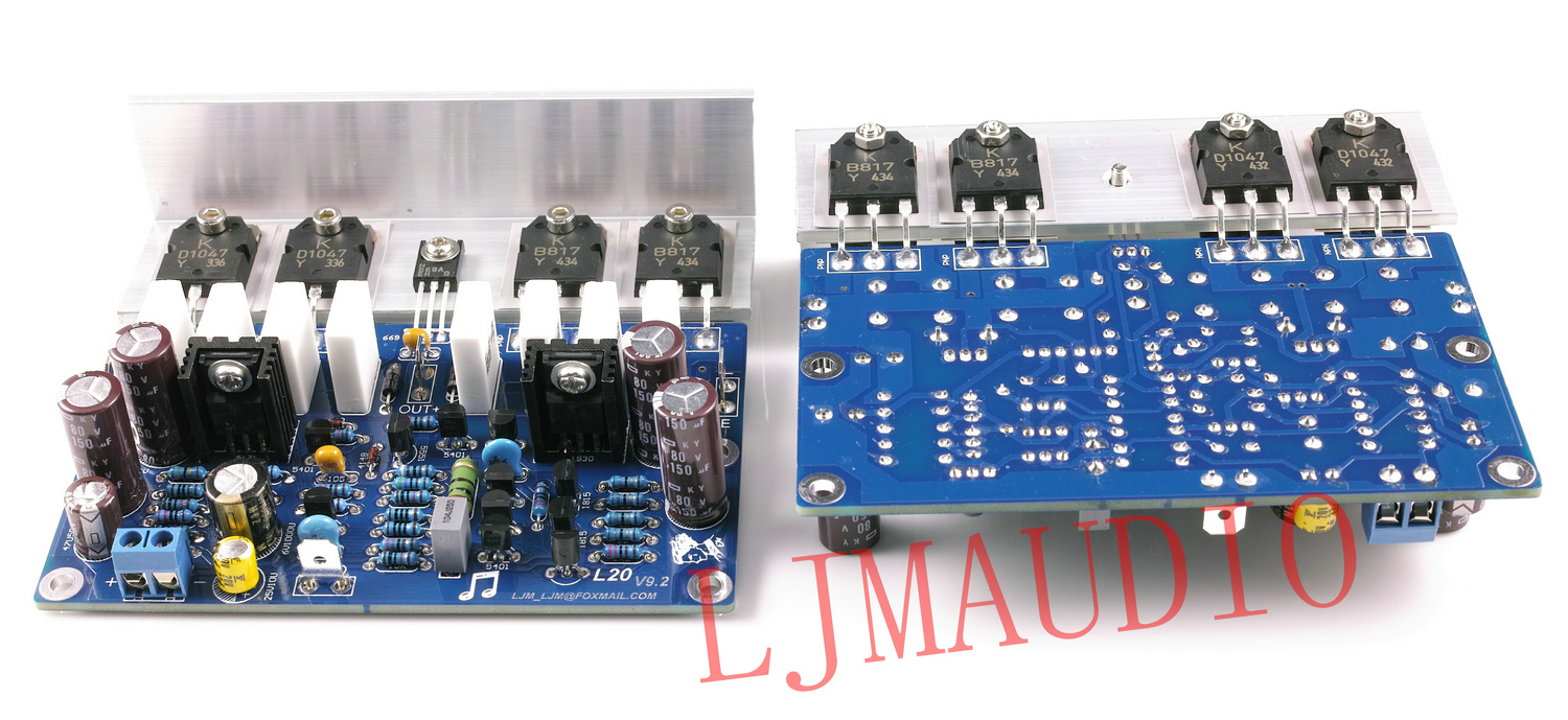 L20 350w 4ohm Class Ab B817 D1047 Power Amplifier Completed Short Circuit Protecting A Electrical Engineering Board By Ljm In From Consumer Electronics On Alibaba Group
