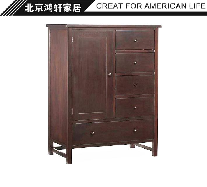 Cri de la pure bois personnalisé américain de style européen français multibenne toute la maison de personnalisation de l'armoire