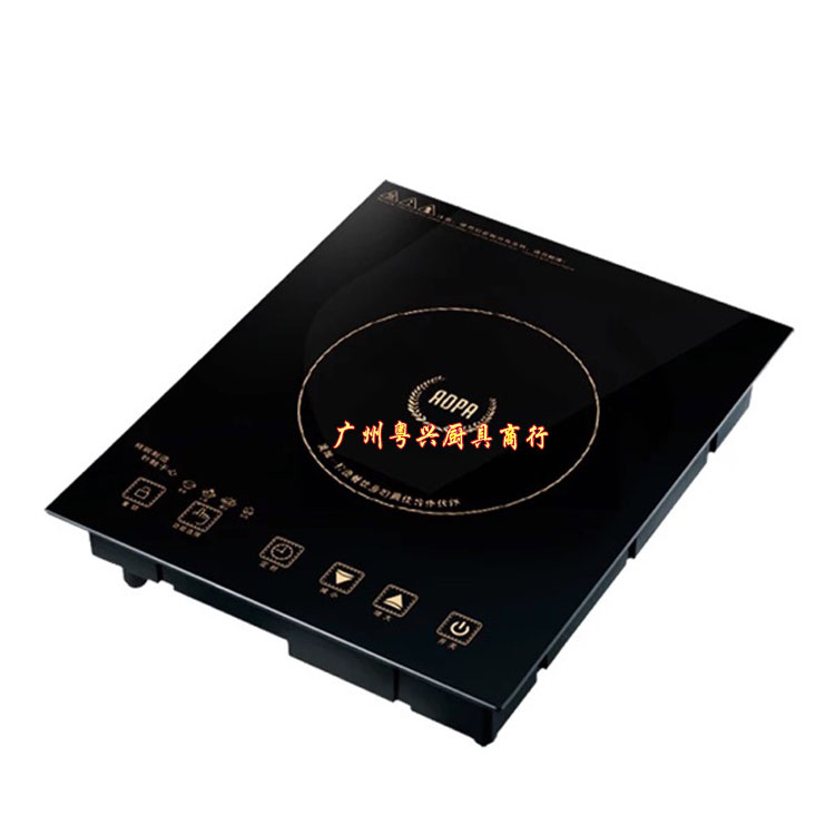 La marca comercial de Australia H1 de hornos de inducción electromagnética fondue especial horno de restaurantes de cocina Plaza de pantalla táctil integrado