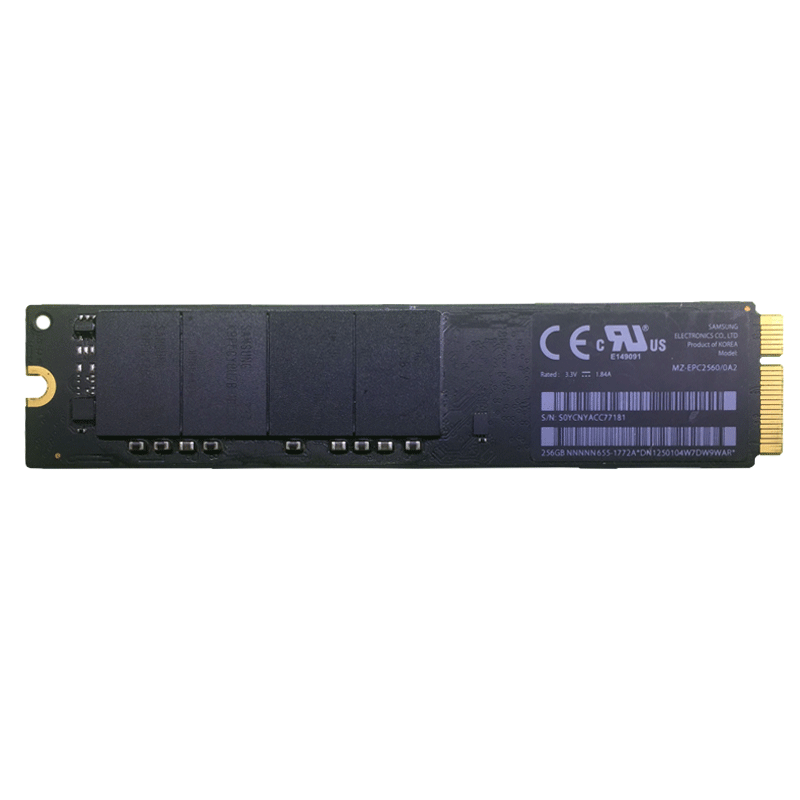 12 ans de pomme - solide SSD MACBOOKAIRA1465A1466256G épeler 128g