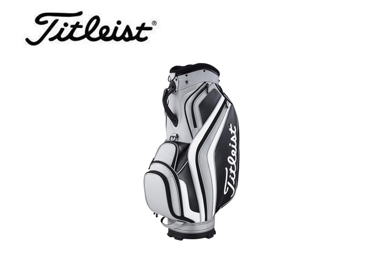 TitleistTB6CTPF-0 black, 021 grey golf bag