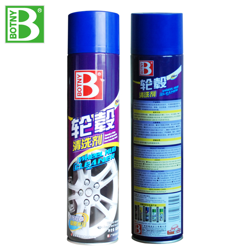 Botny automobile wheel cleaning agent cleaning agent Aluminum Alloy steel rust paint cleaning brightener hub