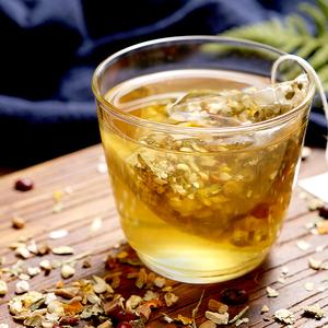 掌微薏米红豆茯苓茶 薏苡仁茶 红豆薏米茶花草茶含荷叶袋泡湿气茶