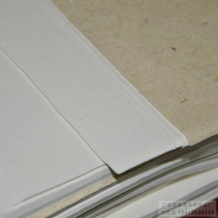 用青檀皮制造出来的宣纸