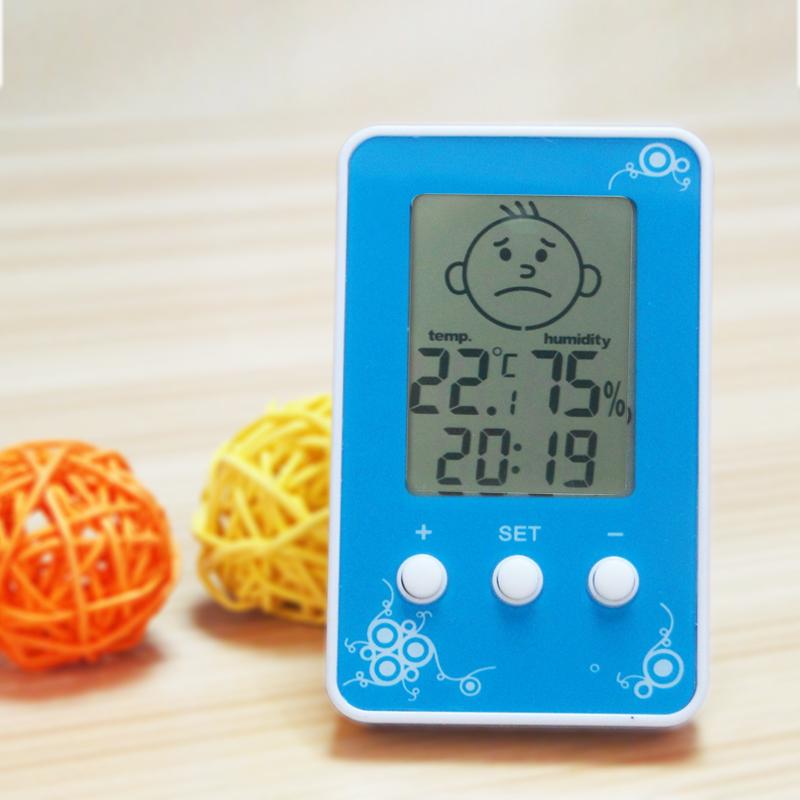 Chambre du bébé de grand écran LCD l\'horloge électronique un ...