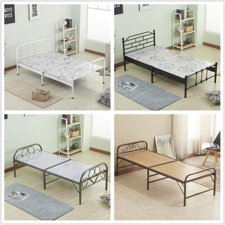 Especial de dormir en la cama la cama cama simple Oficina de sábanas de cama plegable dormir en la cama cama dura