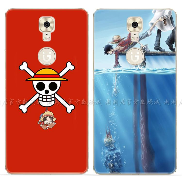 One Piece s9/s8/s7/s6//m6plus/m5/F103/r7 mobile phone shell silicone Luffy Jin men and women