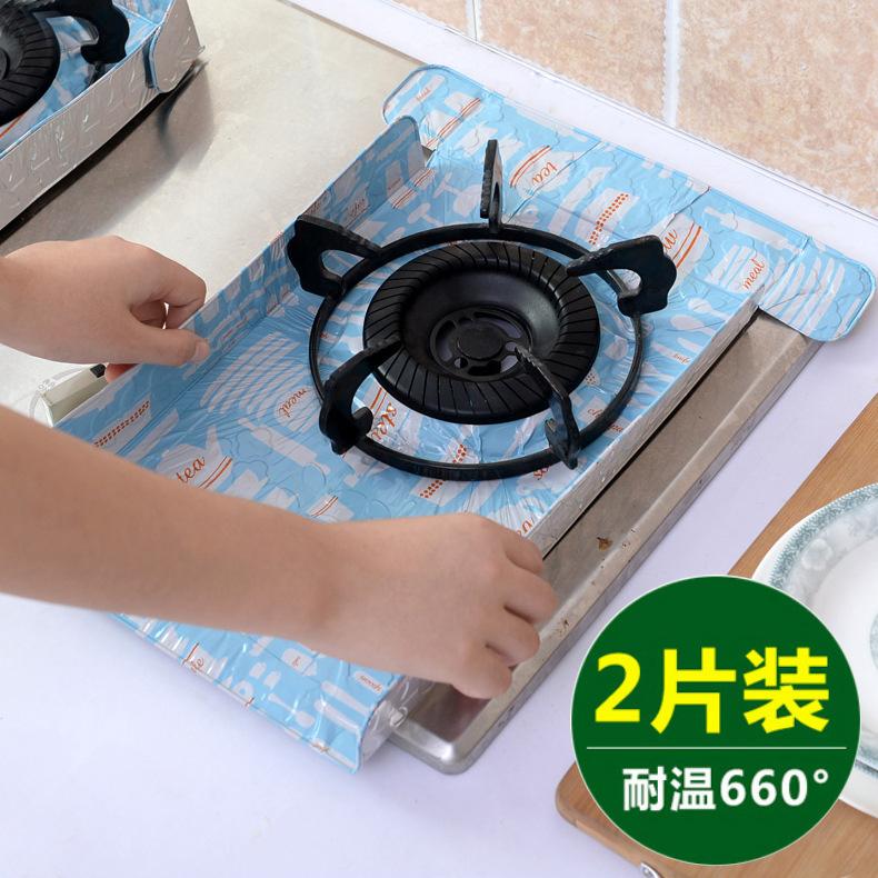 台所ガスレンジ反油パッドにアルミ箔に片装ガスかまど断熱マット防油紙速油板マット