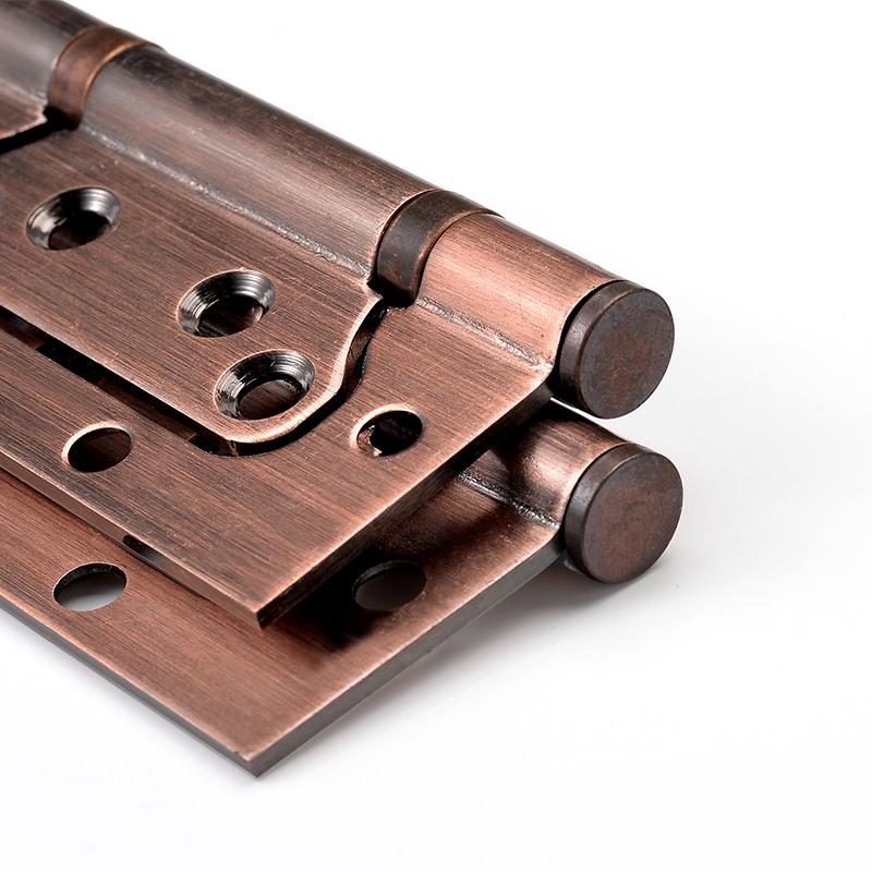 Door hinge 4 inch 3 stainless steel composite bearing door hinge hinge loose leaf thickening chip