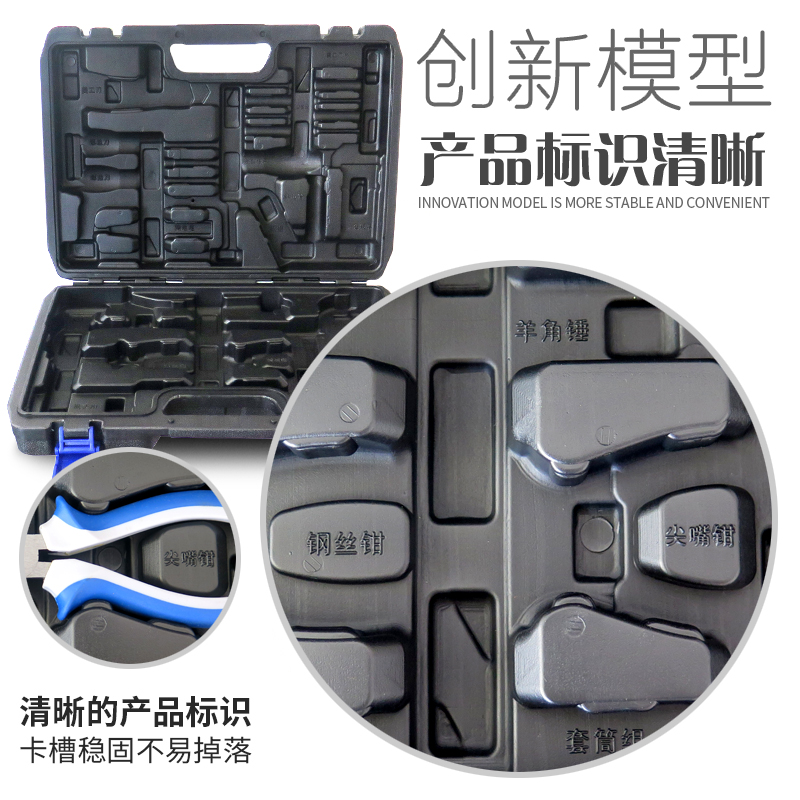 Household hardware tool set, multifunctional manual maintenance, combined auto repair tool, screwdriver, electrical pliers