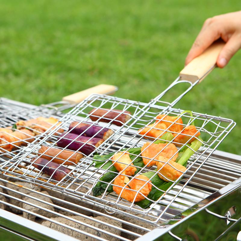 четыре бао барбекю сети клип рыба на гриле рыба на гриле сети клип открытый барбекю гриль инструментов для барбекю аксессуары