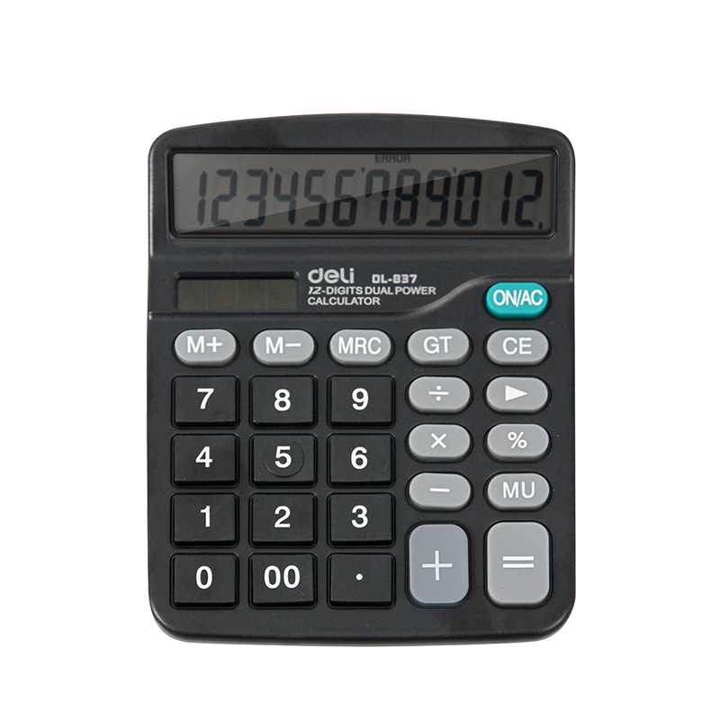 Right calculator 837 economic type solar energy dual power business financial office supplies 837ES students
