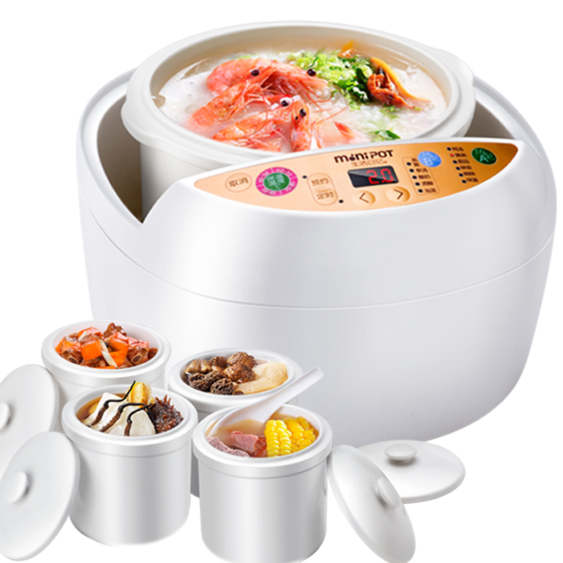 Special offer every day life diary DDG-D658 water braise cup automatic electric cooker ceramic multifunctional soup