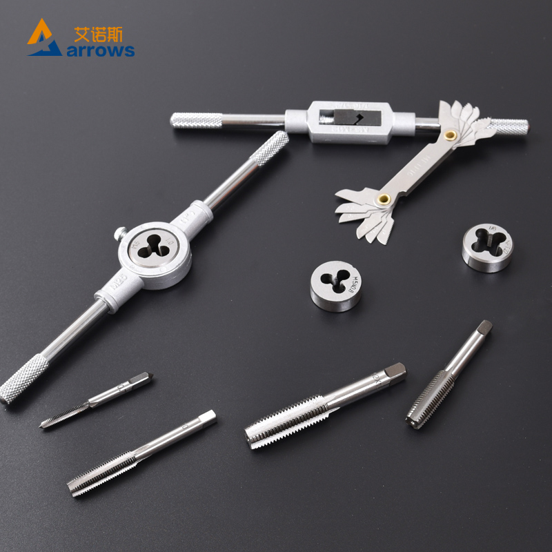 The work of stainless steel tool and die set metric holder hand tap wrench