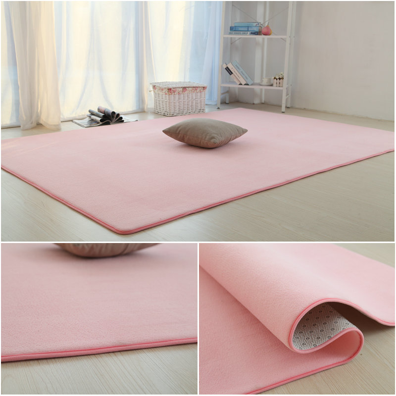 Sofa bedroom carpet floor mats wedding room bed style red color thick tatami simple household winter