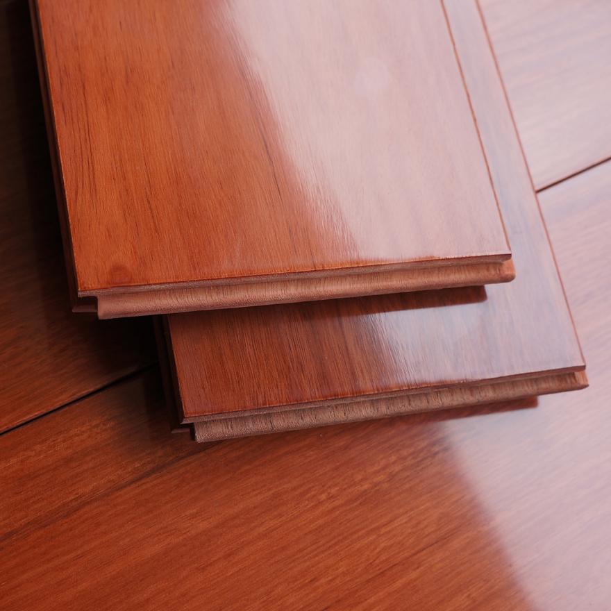 Le blé insipide rouge / de plancher en bois de plancher de bois / usine de sortie semi - mat 910 * * 18 123