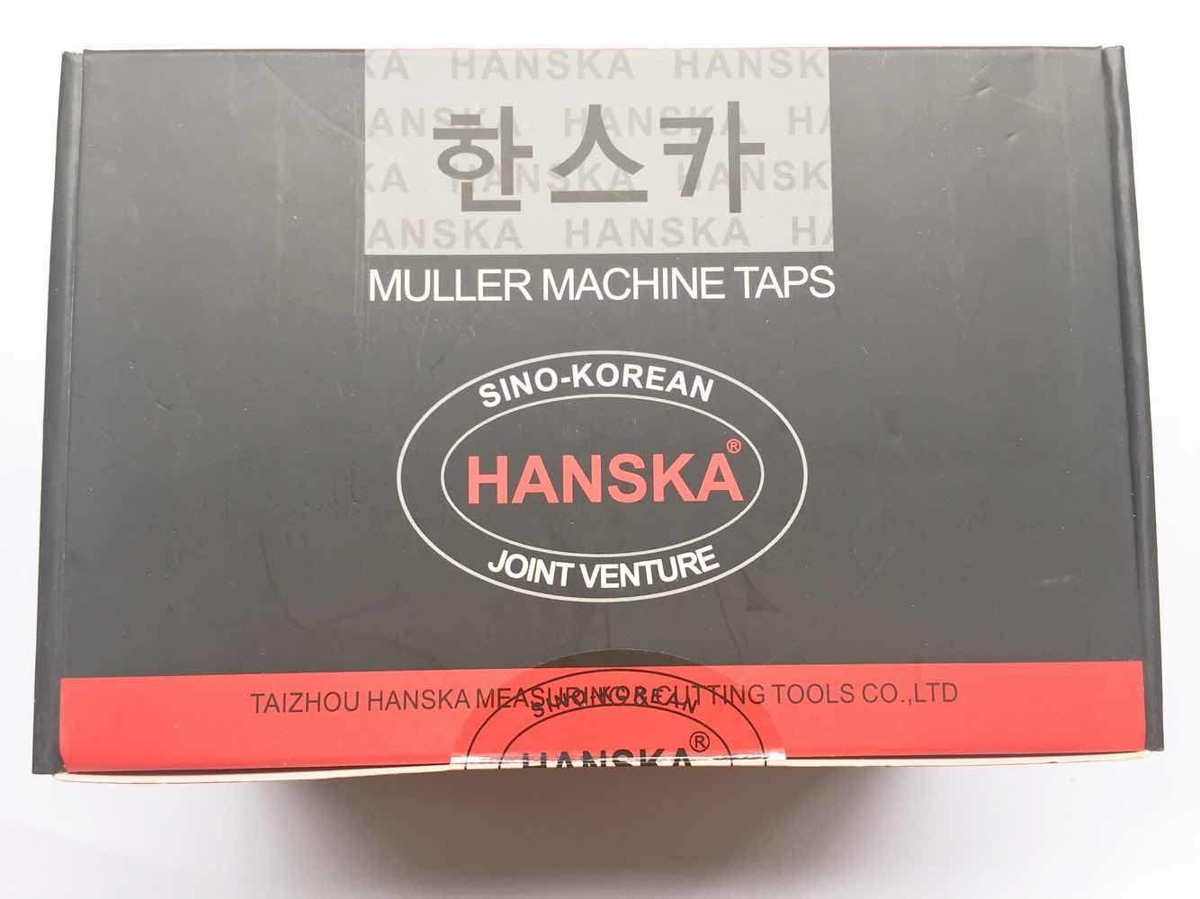 South Korea joint venture HANSKA Hanska full grinding straight slot machine tapping for M2/3/4/5/6/8/10/12-20