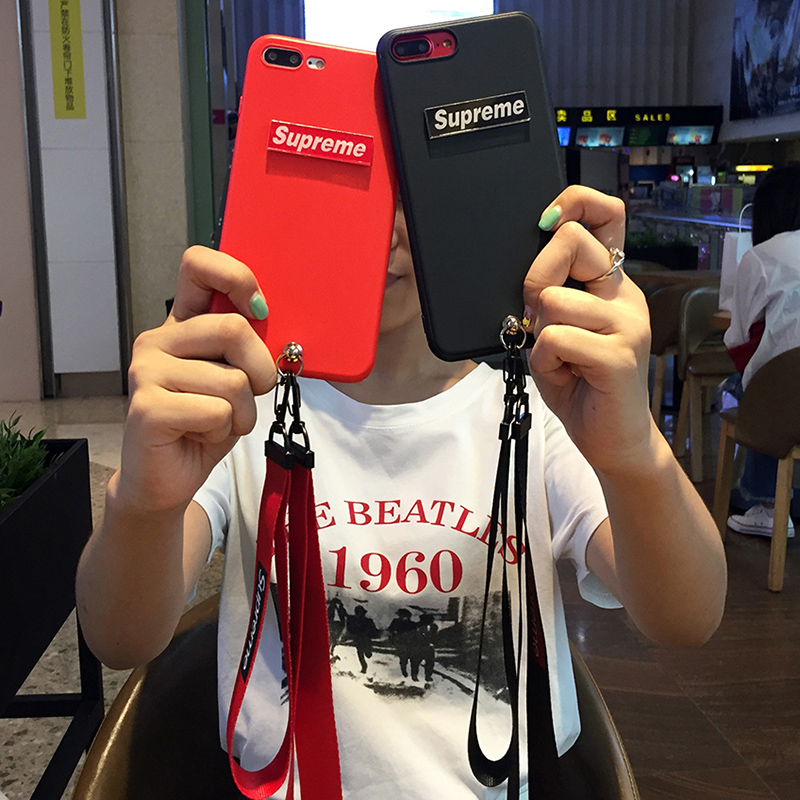 Chao supreme Mito m8/t8 mobile phone shell m6/m4 soft creative lanyard lovers M4S simple men