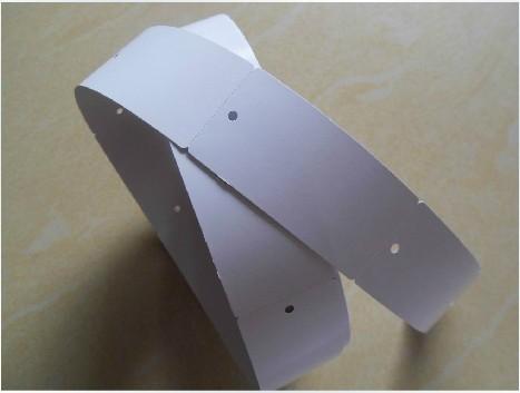 одежду бирку 40mm*80mm*500 Чжан барабан с отверстиями картона форму 250 граммов 82 свернул на заказ