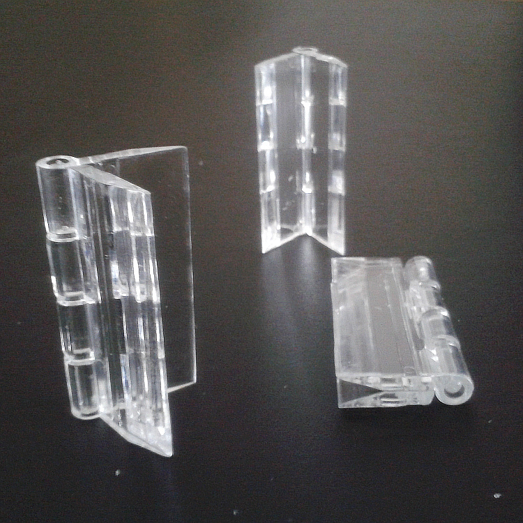 Acrílico transparente de plástico Da dobradiça Da dobradiça, dobradiça de porta, dobradiça de PC H4.5cm acrílico dobradiça