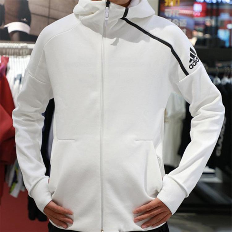 Adidas ZNE stylish COAT KNIT hooded sport coat CD6277