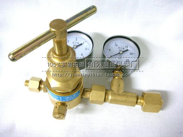 YQD-370 gas Hohen Druck ventil manometer die tasche post 6*25MPA Shanghai
