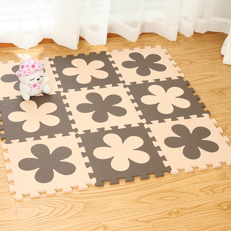 The puzzle mats covered the bedroom of infant crawling pad stitching home game blanket mat Mingde authentic tatami