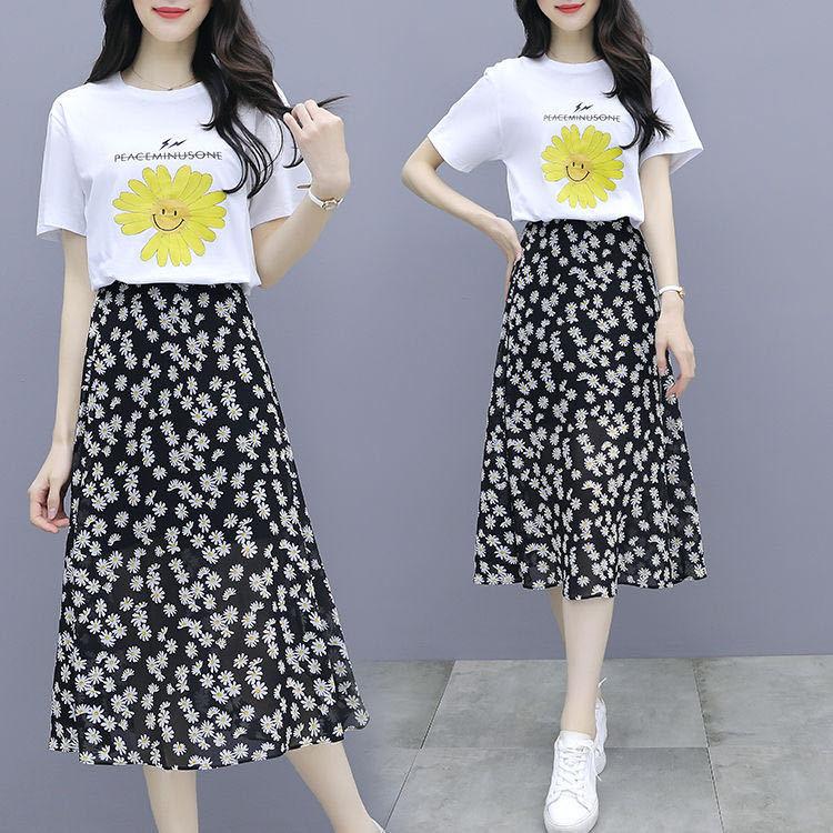 小雏菊显瘦垂感中长两款半身纱裙