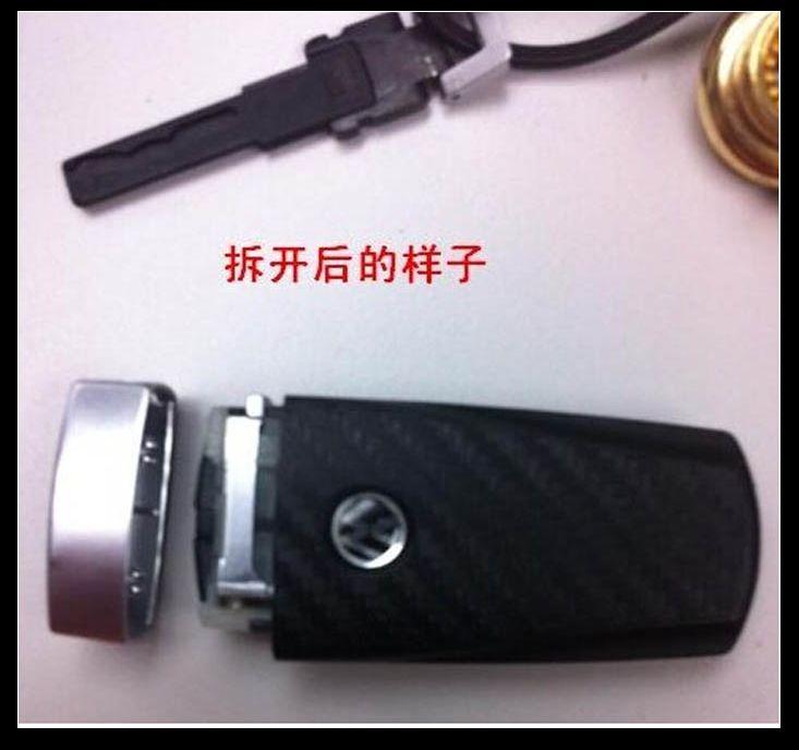 大众CC迈腾B7L 辉腾R36 高尔夫R 2032汽车遥控器钥匙纽扣电池包邮高清图片