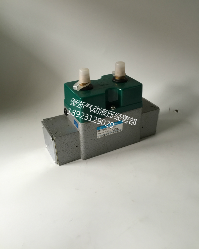 (spot) in Guangdong Province, Zhaoqing double electric control valve plate connection type DQK264CDC24V