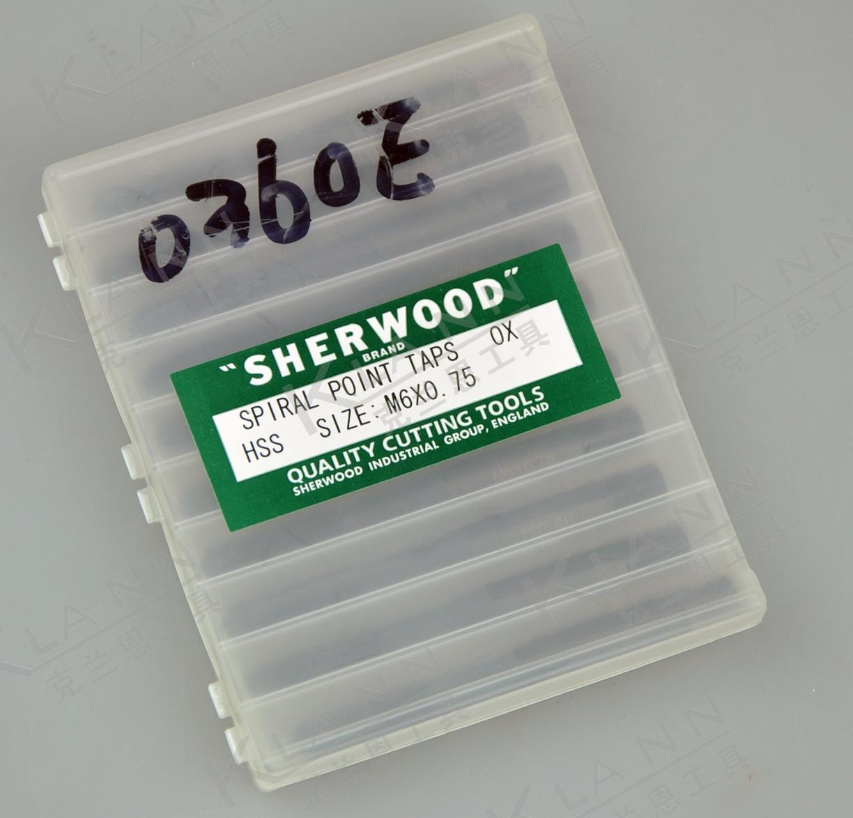 British SHERWOOD high speed steel metric fine tooth machine taps SHR-085-0360E Cromwell