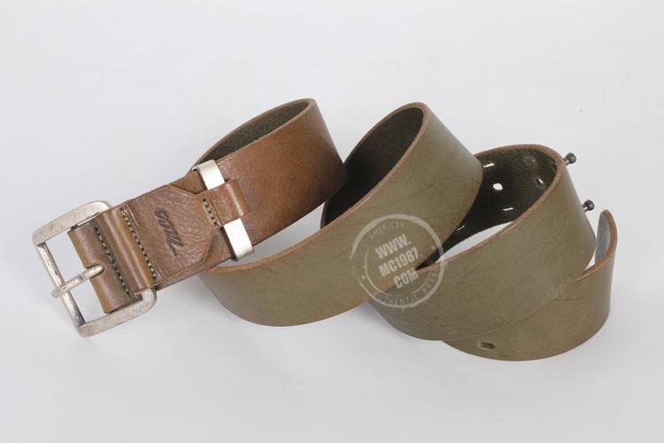 マルボロ紳士ベルトバックルベルト牛皮革頭階針規格品の遊びの純牛皮新型1185