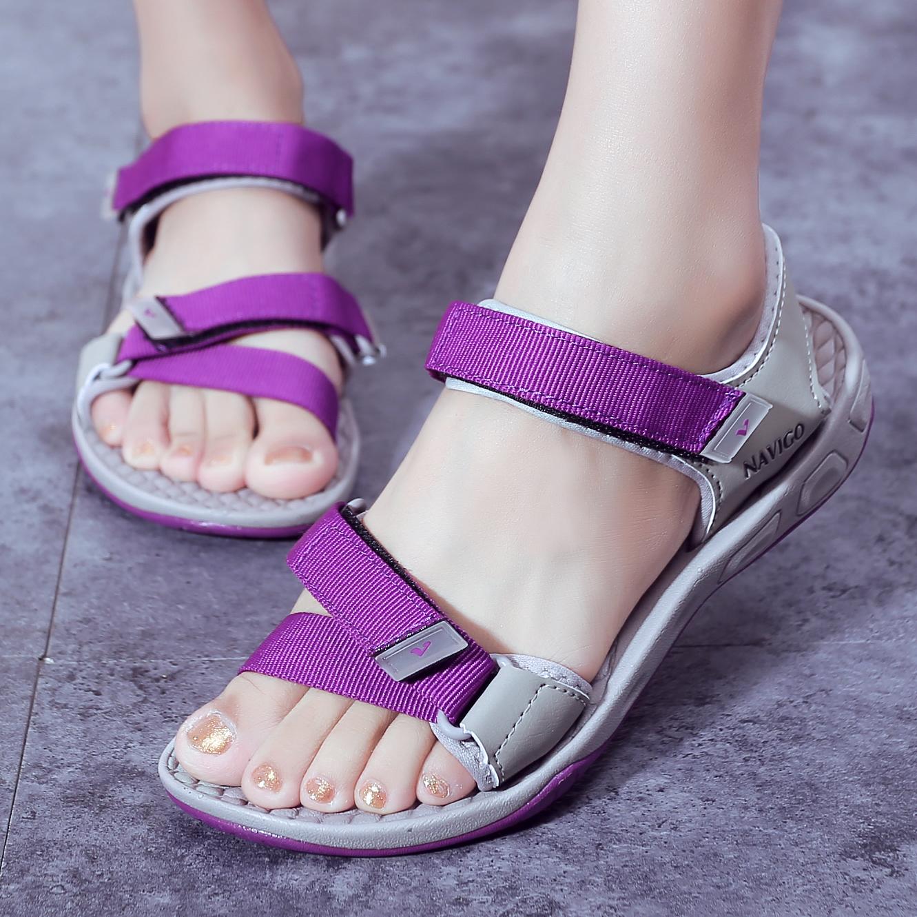 韩版凉鞋女士越南鞋时尚原宿休闲2017新款夏季罗马学生平跟沙滩鞋