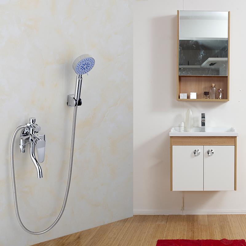 выпускной все медные солнечной электрический водонагреватель клапан смеситель яркий наряд душ кран горячей и холодной воды переключатель кран бели