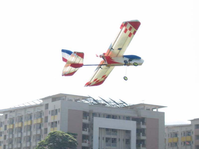 Afstandsbediening modelvliegtuigen goed kind 1000 vier-kanaals vaste vleugel modelvliegtuigen fladderende machine EPP compleet