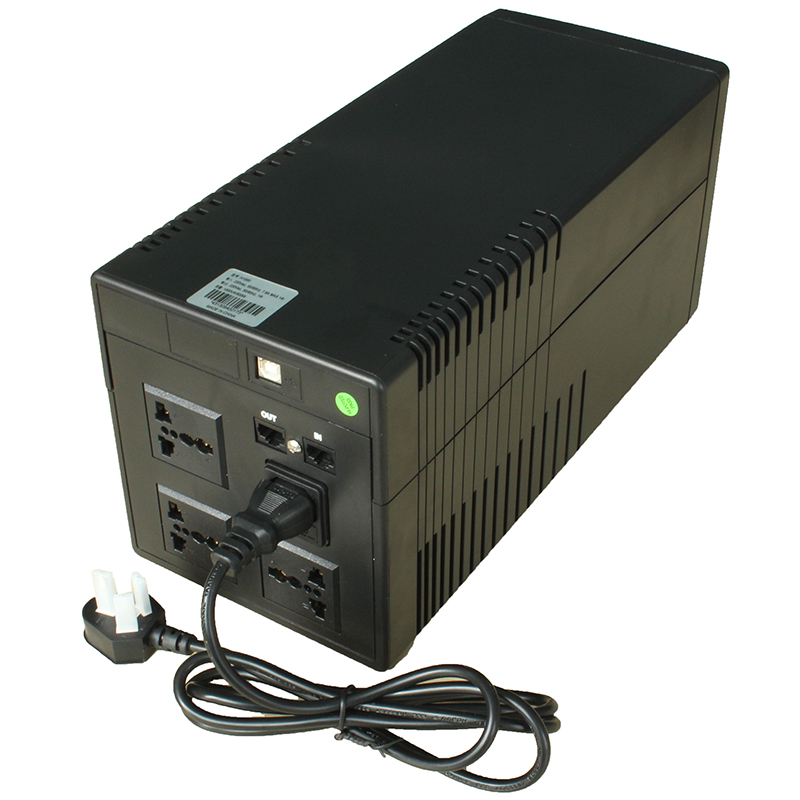 UPS uninterruptible power supply H1000600W single computer 45 minute automatic switch service