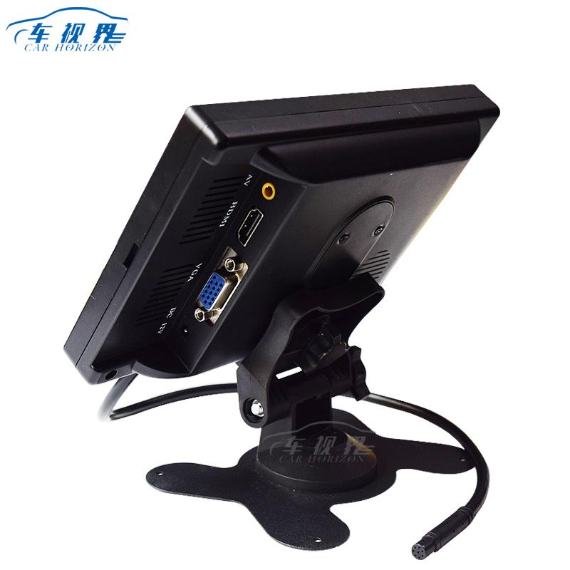 7 بوصة رصد تجهيز مرئي هدمي واجهة سطح المكتب رصد سيارة شاشات الكريستال السائل الرقمية مراقبة جوية