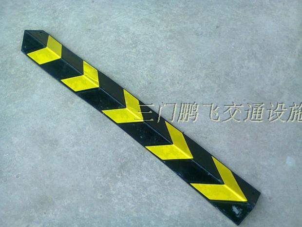 Caucho esquina recta de 1 metro de largo de un almacén de la esquina del garaje de estacionamiento para protección del reflejo del pilar
