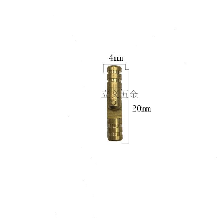 4*20 меди цилиндрическая петли чистой меди скрытые цилиндрическая слово петли ведро петли цинка, меди, лента и т.д.