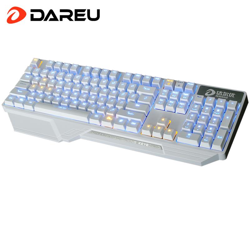 Lol Miss periféricos y tienda de Dahl dk300 juego mecánico de luz verde al pozo negro del teclado mecánico wrangler