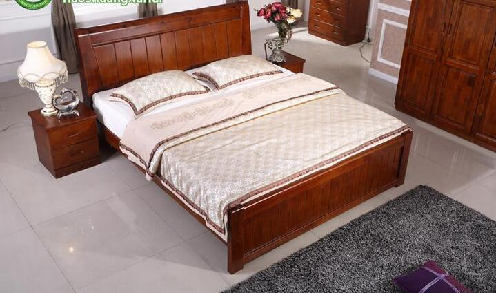 B823 camphor wood, solid wood bed, bedroom furniture, all solid wood 1.5 meters, 1.8 meters bed, Chinese bed, double bed, mail