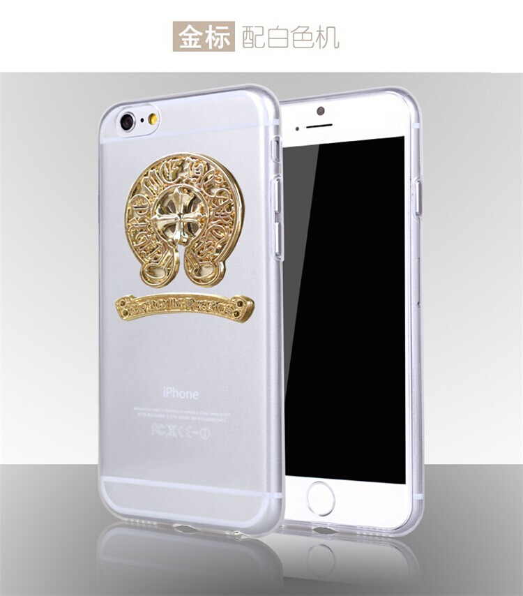 心iphone6手机壳苹果6plus情侣软保护套5s边框透明壳