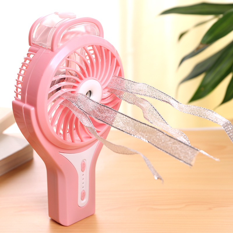 Handheld small refrigeration dormitory fan, student Mini hand with multi-function large mini air conditioning