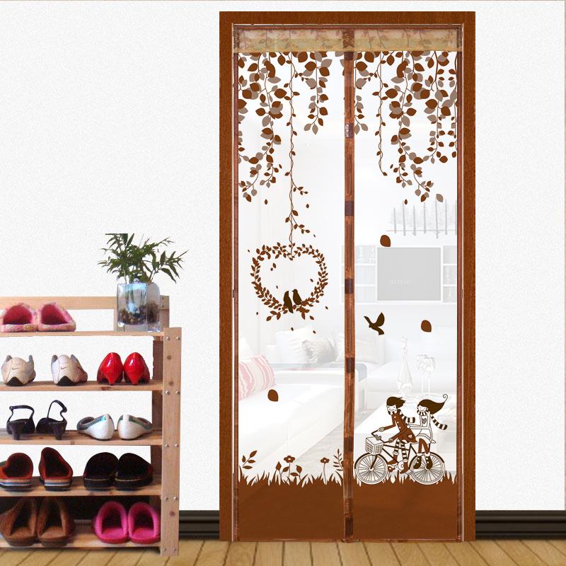 UNO schermo di Zanzara Muto magnetico tende di cifratura in occasione di una porta finestra in camera da letto morbido Porta la stanza del