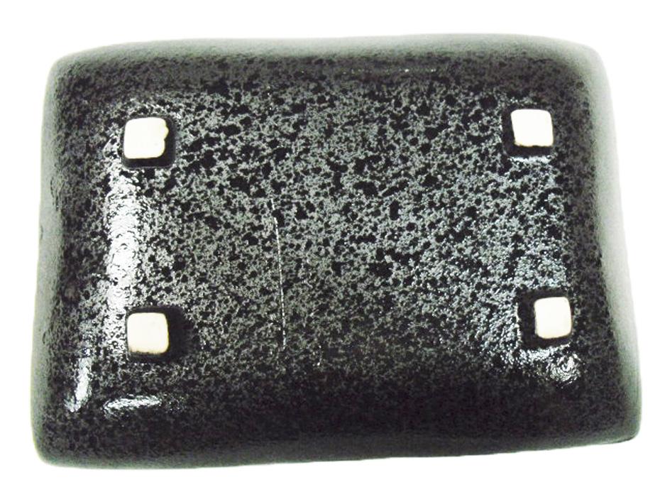 черный прямоугольник фарфоровая глазурь, Япония, Южная Корея, керамическая посуда пельмени диск ужин тарелки рыбы холодных блюд барбекю характеристики диск
