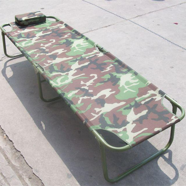 Custom outdoor booth, folding bed, shelf bed, office nap, lunch bed, canvas camp bed, camouflage escort package