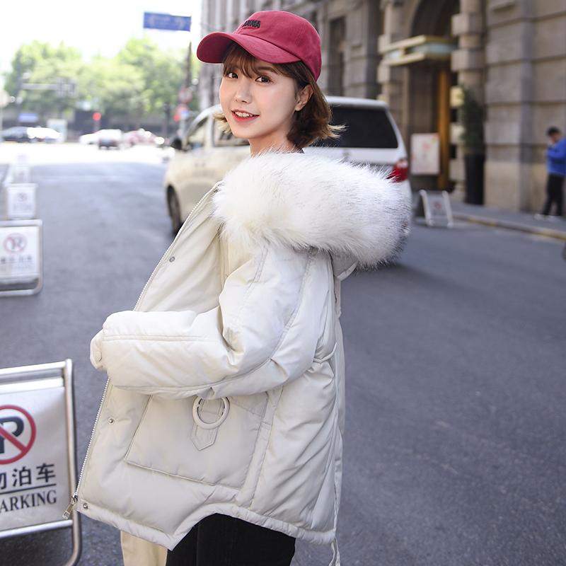 8891短款羽绒棉服女新款韩版宽松面包服学生小棉袄冬装外套棉衣潮
