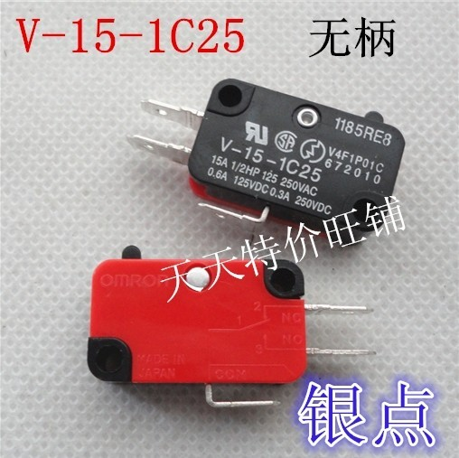 Prata V-15-IC25 V-15-1C25 micro interruptor interruptor de Alta temperatura do forno de Microondas