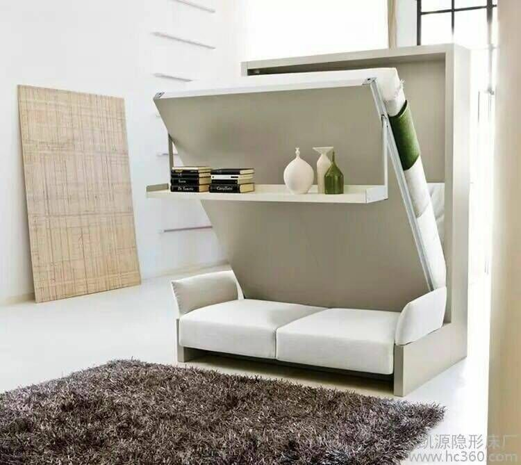 Tianjin's custom folding bed bed large-sized apartment multifunctional wall bed sofa bed factory direct